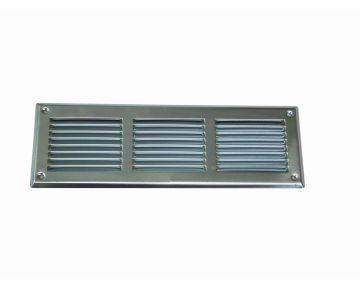 Schlitzgitter aus Stahlblech verzinkt oder RAL 9010