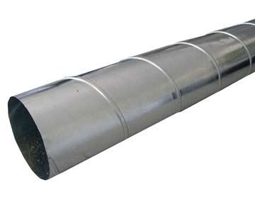 SPIRO-Rohre verzinkt