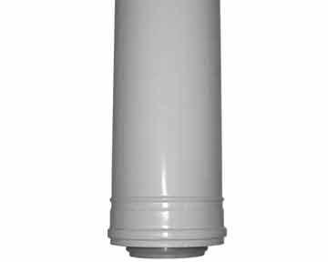 LAS-Abgasleitung für Aussenwandmontage